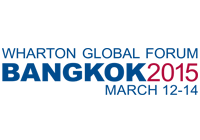 Wharton Global Forum Bangkok 2015