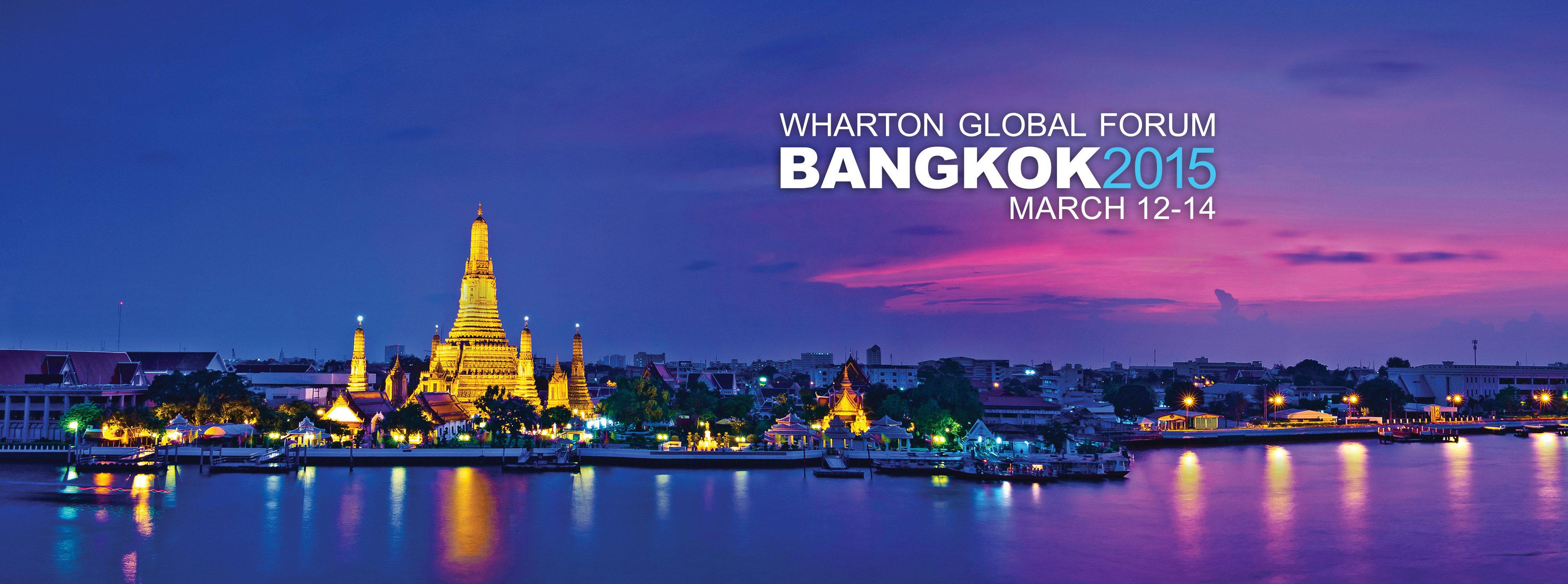 Wharton Global Forum Bangkok