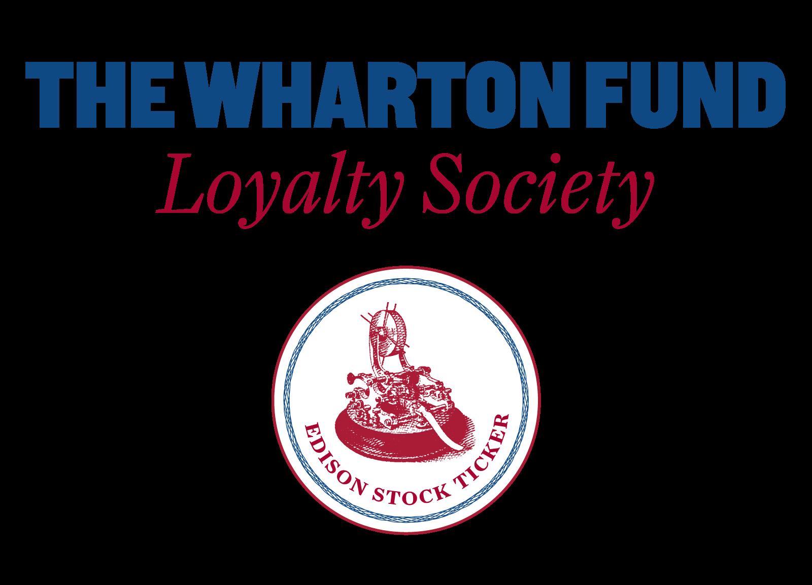 The Wharton Fund Loyalty Society Logo