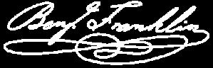 Benjamin Franklin Signature