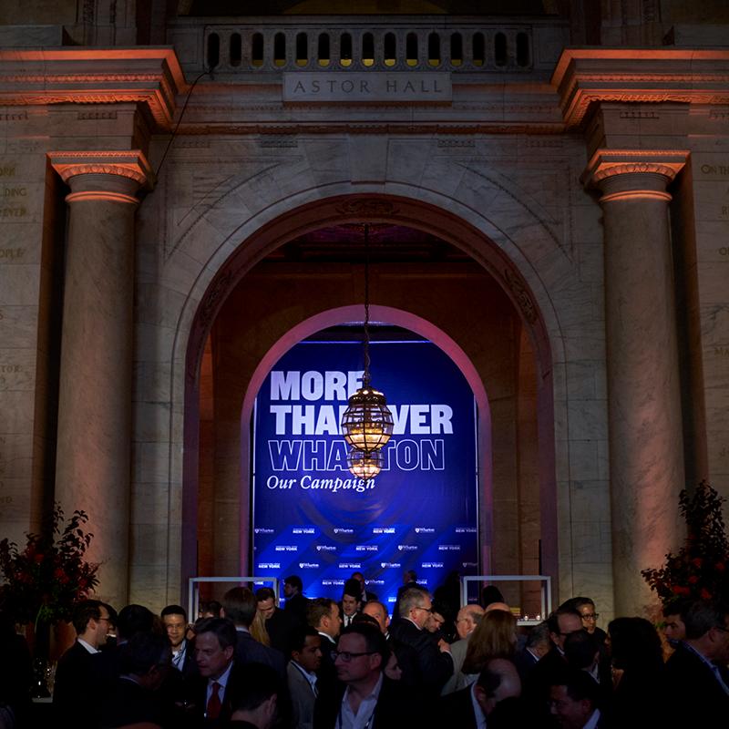 Wharton Global Forum in New York
